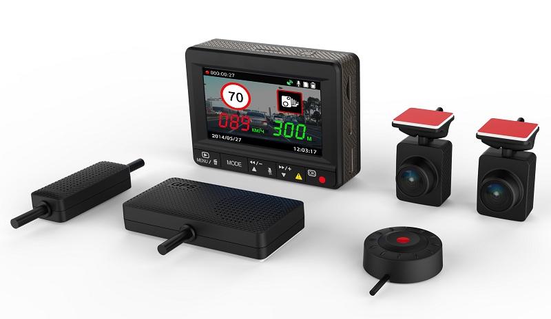 Модульный автомобильный видеорегистратор